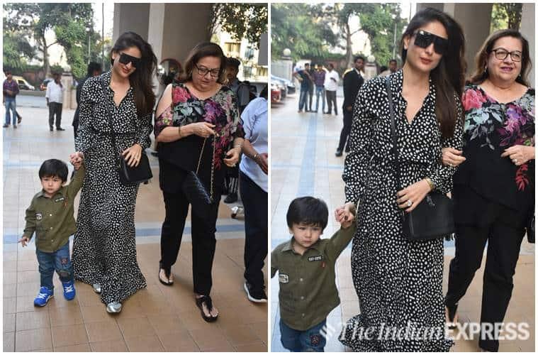 Kareena Kapoor Khan, Kareena Kapoor Khan latest pics, Kareena Kapoor Khan latest news, Kareena Kapoor Khan updates, Kareena Kapoor Khan street style, Kareena Kapoor Khan airport fashion, celeb fashion, bollywood fashion, indian express, indian express news