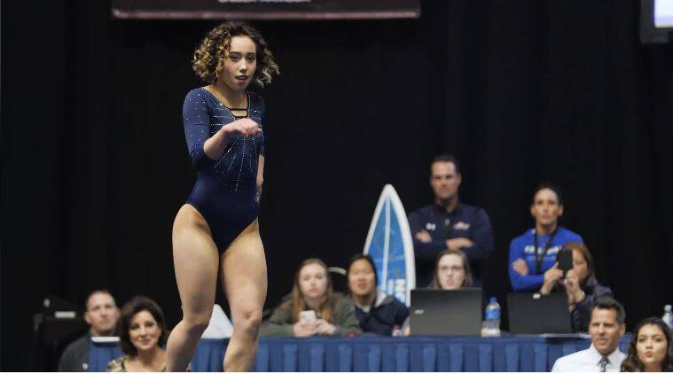 Watch: This gymnast's perfect 10 floor routine has the world talking about it