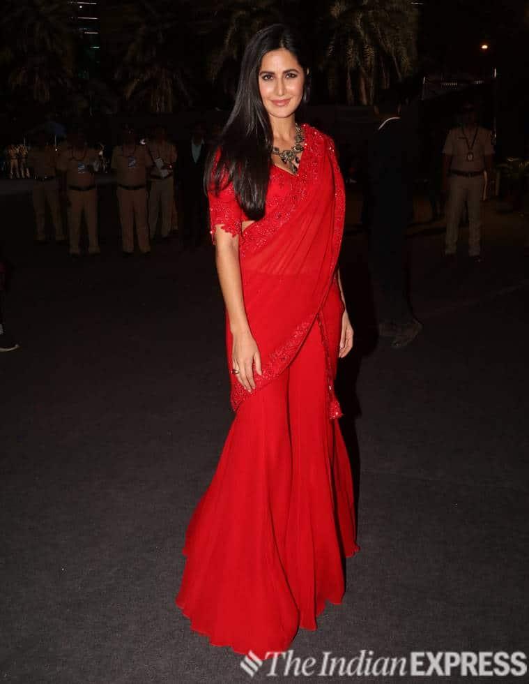 Katrina Kaif, Karisma Kapoor, sari, traditional six-yards