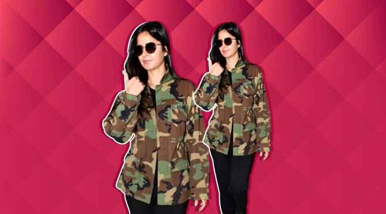 Katrina Kaif's take on camouflage style is disappointing
