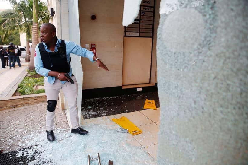 Kenya attack: At least 15 killed as gunmen storm Nairobi hotel compound