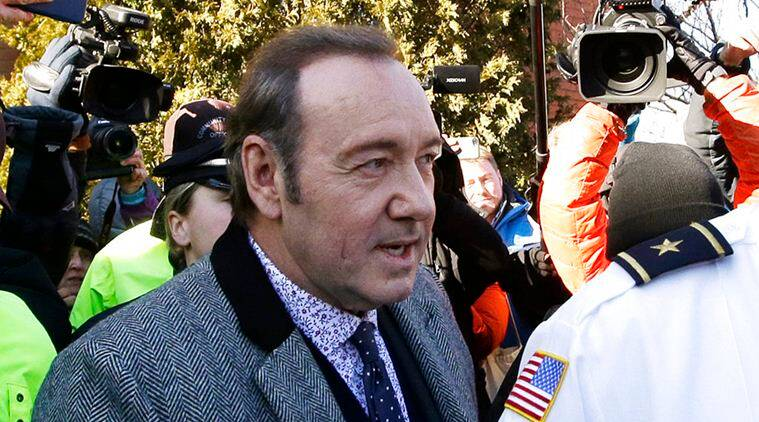 Hollywood star Kevin Spacey in court over sexual assault charge