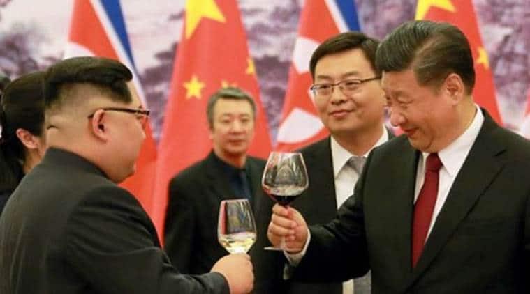 kim jing un china visit, kim jong un xi jinping summit, north korea china, north korea usa, kim trump summit, xi jinping china, world news, latest news, indian express