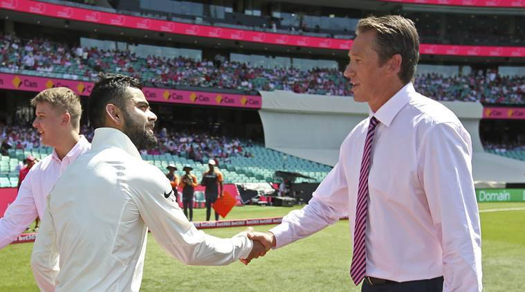 Australia v India: fourth Test, day five