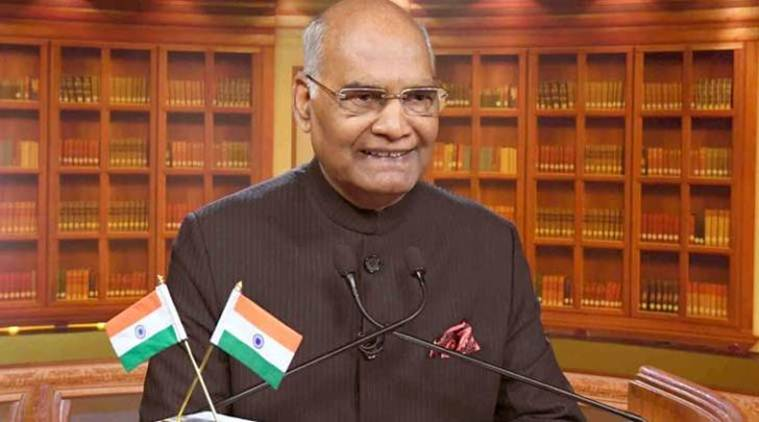 President Ram Nath Kovind will address the nation on the eve of Republic Day on Friday.