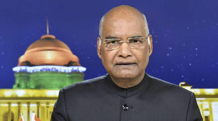 ram nath kovind, ramnath kovind, president ramnath kovind, gujarat, gujarat assembly, bills, amendment bills, chain snatching, imprisonment, ipc, indian penal code, gujarat news, indian express news