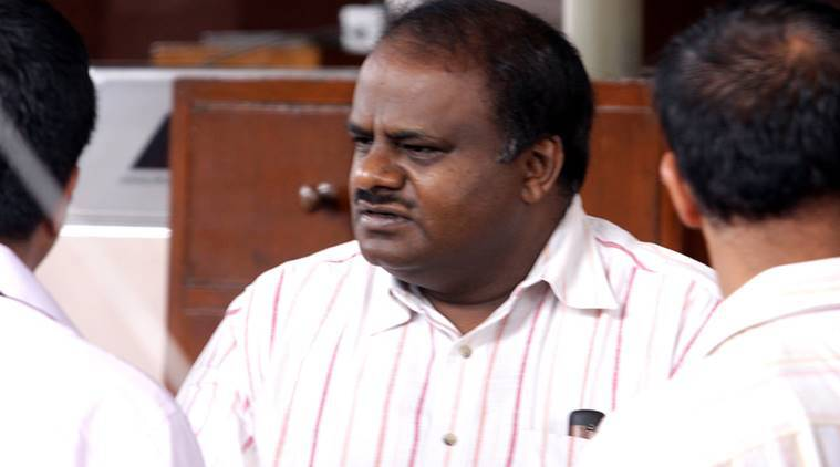CRPF in Bengaluru to carry out I-T raids, alleges Karnataka CM Kumaraswamy