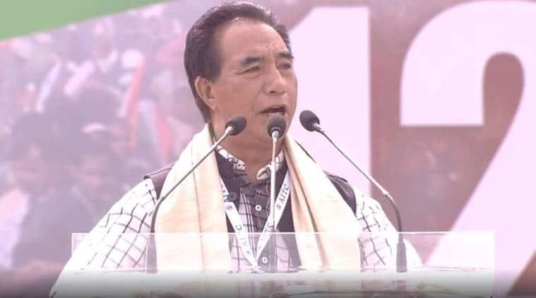 Citizenship amendment bill,Lalduhawma, Zoram Nationalist Part, ZNPLalduhawma, Opposition rally Kolkata,Lalduhawma Opposition rally, Indian express, latest news