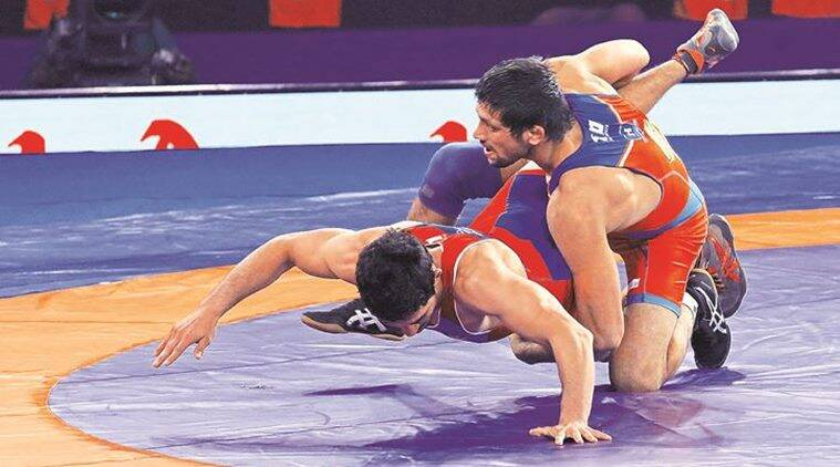 Pro Wrestling League: Haryana Hammers seize win on UP Dangal on Day 3