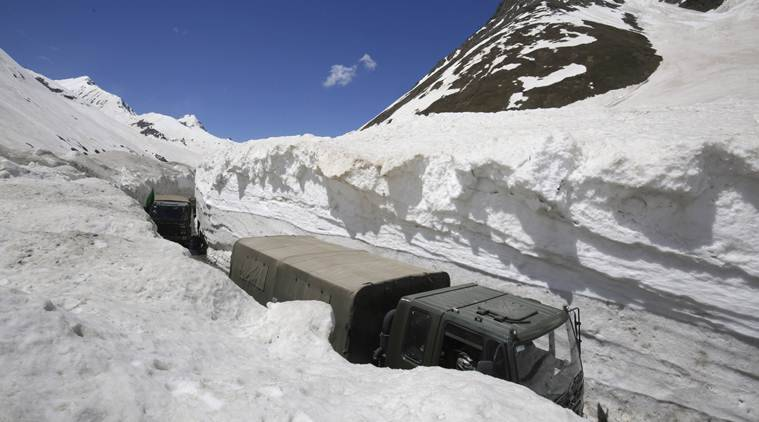 Khardung La avalanche: One civilian dead, 9 trapped; rescue operations underway