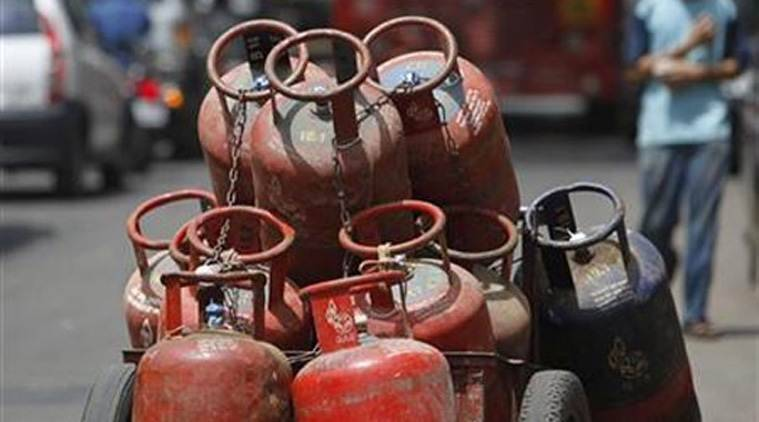 lpg cylinder blast, surat news, gujarat news, latest news, indian express