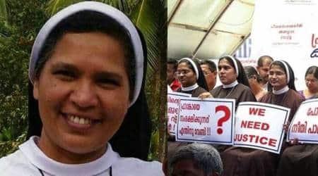 kerala nun suspended, kerala nun suspended from church, bishop franco mulakkal rape case, bishop mulakkal rape case, franciscan clarist congregation, india news, indian express