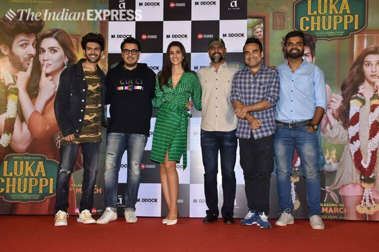 luka chuppi trailer launch