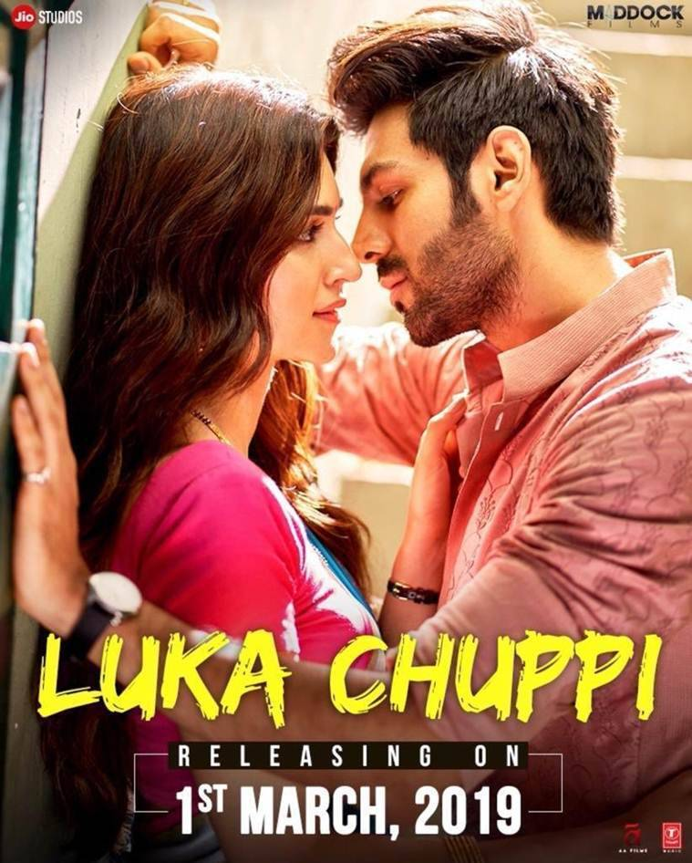 kartik aaryan and kriti sanon in luka chuppi