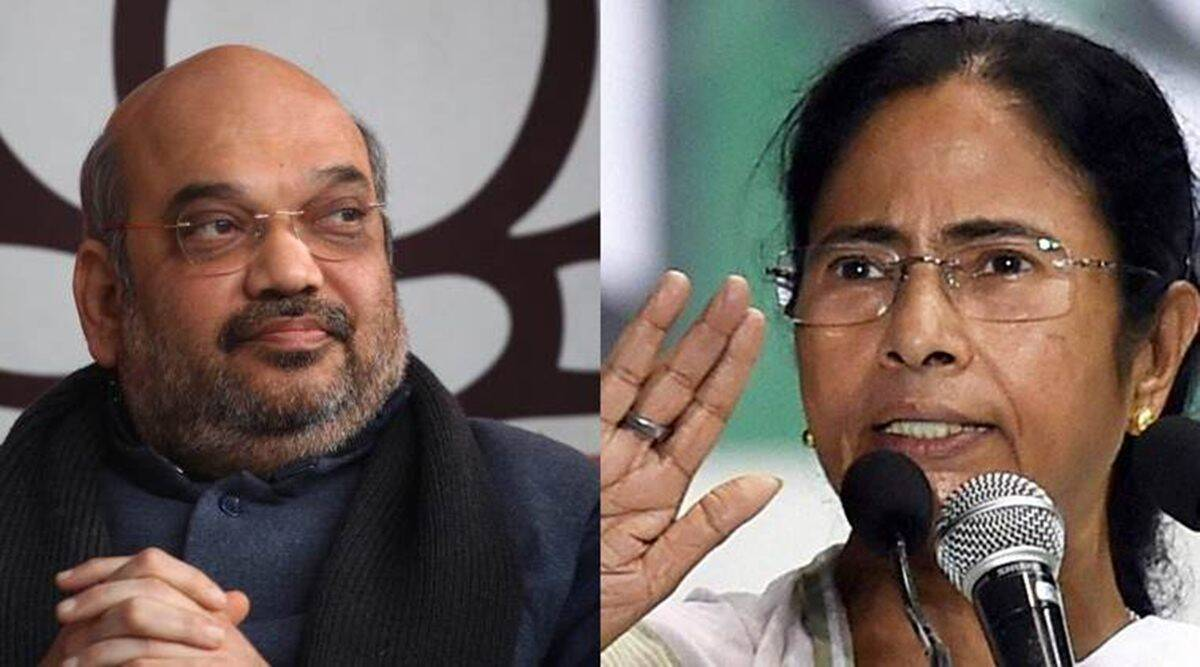 Owners of chit fund firms bought Mamata's paintings, says Amit Shah