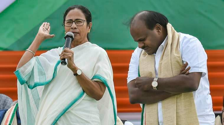Mamata Banerjee can lead India, country 'disappointed' with Modi: Kumaraswamy