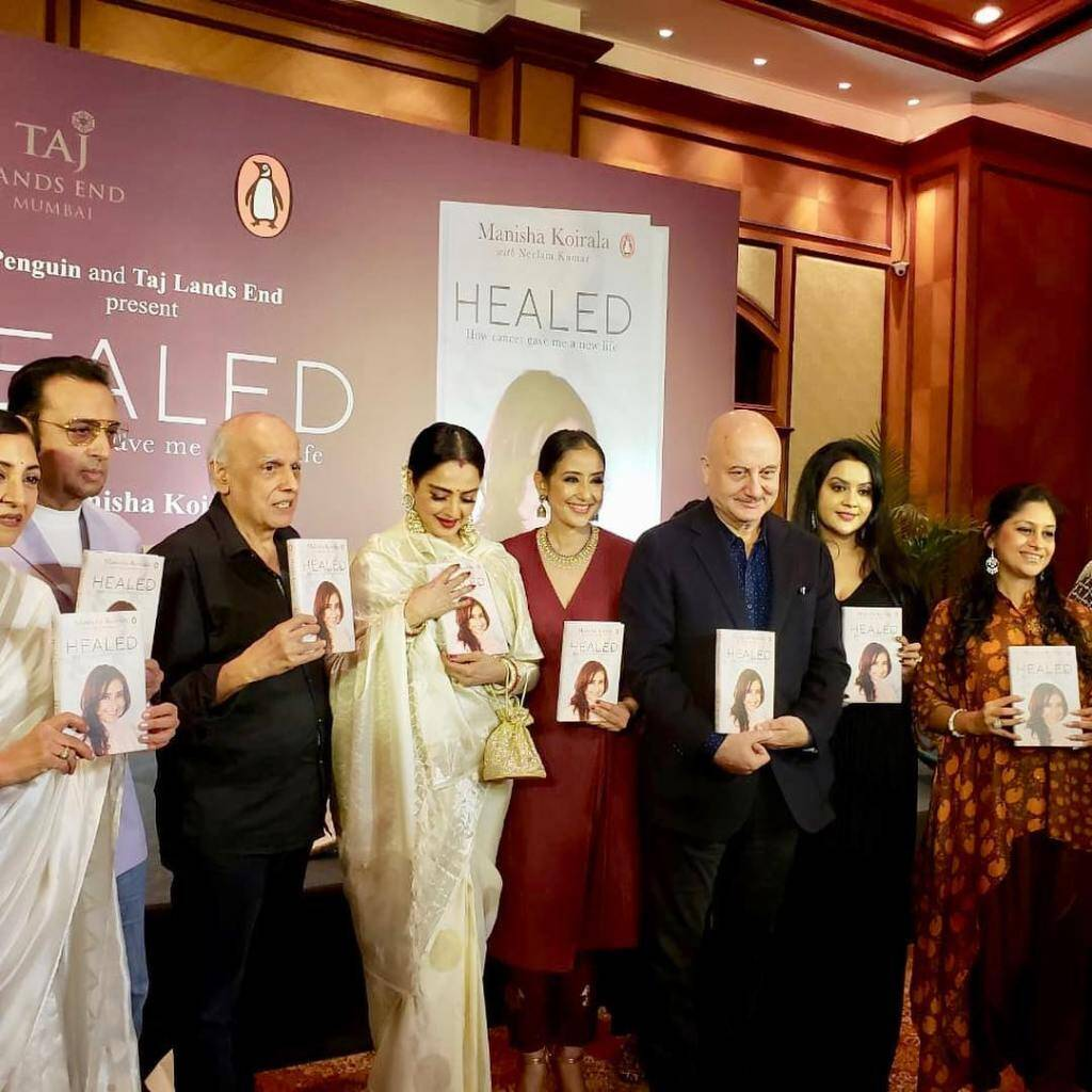 manisha koirala book launch
