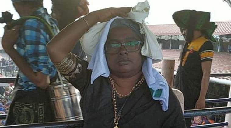 sabarimala temple, sabarimala temple dalit woman entry, sabarimala temple women entry, sabarimala temple protests, sabarimala protests, navothana keralam sabarimalayilekku, sabarimala temple dalit woman, kerala news
