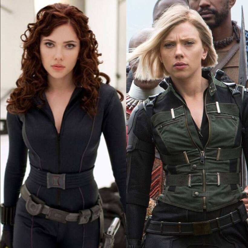 black widow ten year challenge