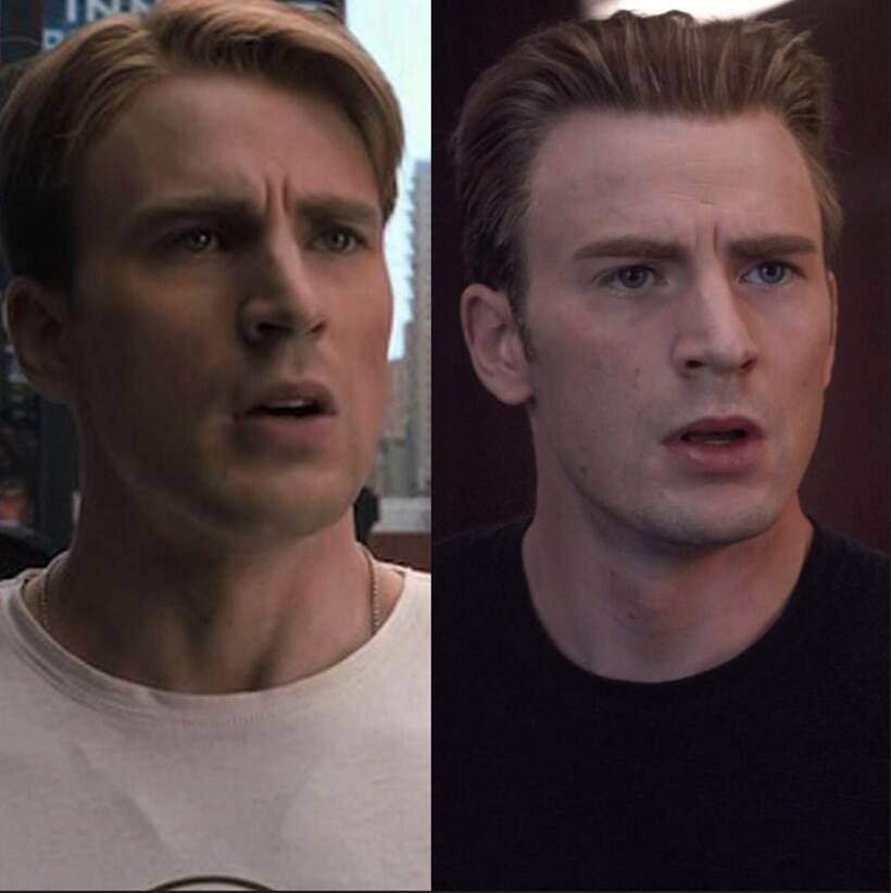 captain america ten year challenge