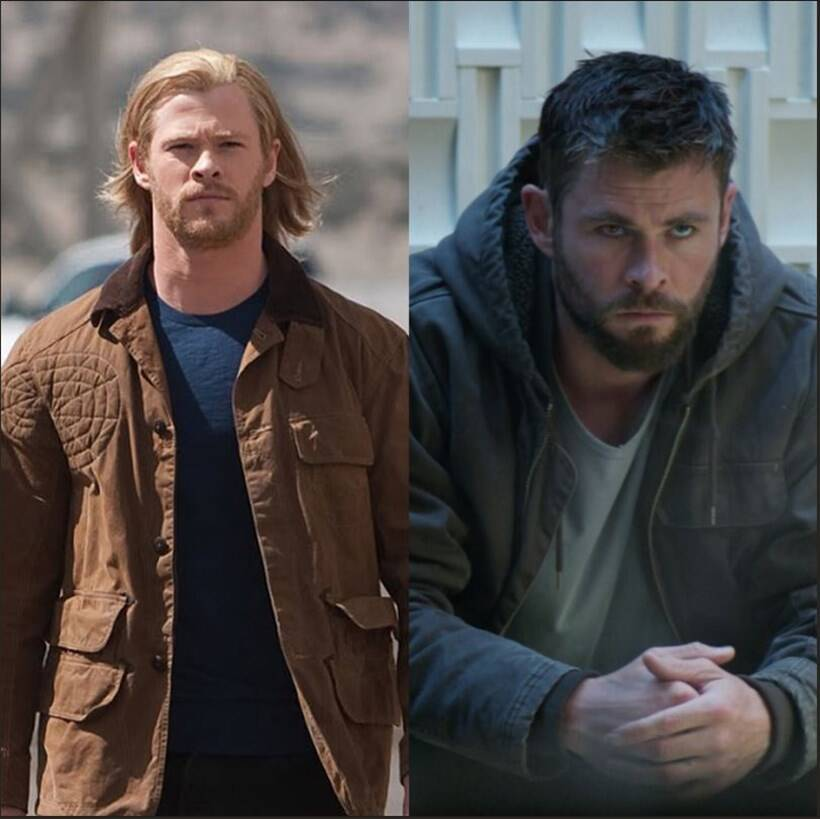 Marvel superheroes take the #10YearChallenge