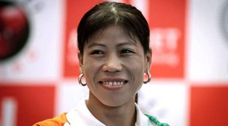 Mary Kom looks powerful on this magazine cover in a denim outfit and boxing gloves