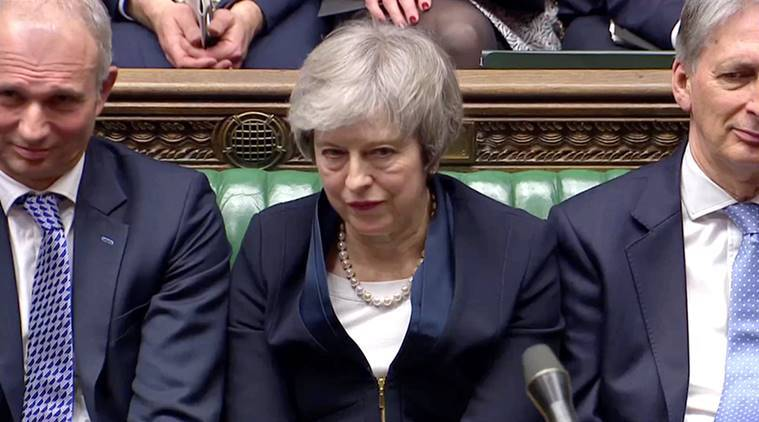 UK PM Theresa May loses symbolic Brexit vote in parliament