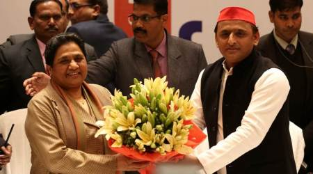 SP, BSP, SP Akhilesh, BSP Mayawati, Akhilesh Mayawat, Mayawati Akhilesh, SP-BSP alliance, Mayawati, Akhilesh yadav, Uttar Pradesh, UP seats, UP 80 seats, UP news, BJP, India news, Indian express news