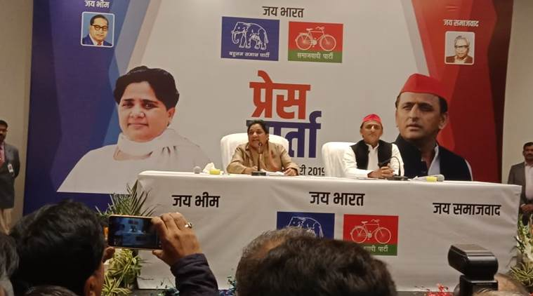 Mayawati, Akhilesh announce tie-up for Lok Sabha polls
