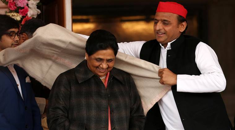 Akhilesh-mayawati Pact: Bsp To Contest On 38 Seats, Sp Gets 37