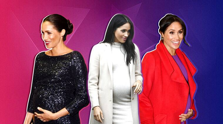 Duchess of Sussex Meghan stuns in H&M £25 maternity dress