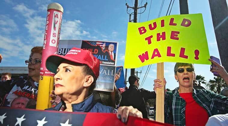 Donald Trump, US Shutdown, National emergency US, US emergency, Mexico wall, Trump mexico wall, Texas Mexico border, Trump wall, US Shutdown Trump, US Congress, Trump Texas, McAllen Texas visit, US government shutdown, Nancy Pelosi, World news, Indian express, latest news