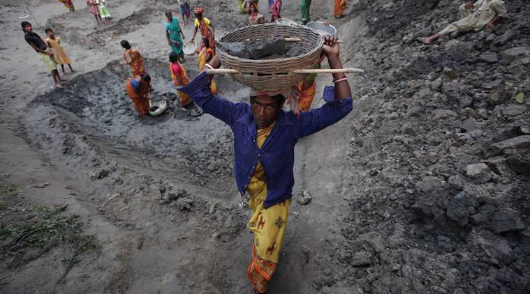 MGNREGA, MGNREGA wages, Rural employment wages, MGNREGA wages, MGNREGA wages hikes, MGNREGA wage revision, nrega wages, farm wages, MGNREGA wages dip, MGNREGA lowest wage hike, rural economy, Modi govt, Indian Express