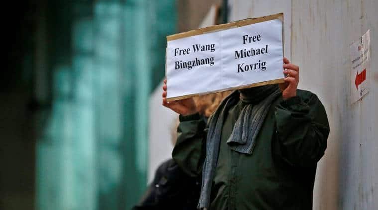 Michael Kovrig, Canada diplomat, Canada diplomat China, China Canada, Justin Trudeau, Canadian diplomat arrested, Canadian arrested in China, Huawei, Huawei arrest, Indian express, world news, world news China, latest news