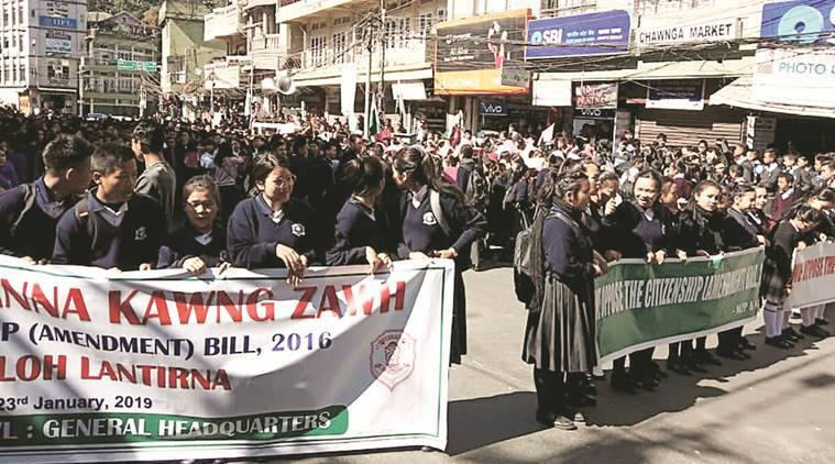 Citizenship Bill: the concerns behind Mizoram's strong protests