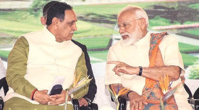 CM Vijay Rupani: With Modi as PM, Gujarat is brimming with development
