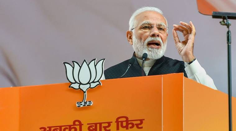 Modi To Kick Off Bjp's Ls Campaign In Mp With Two Rallies