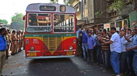 best bus strike, best bandh, mumbai bus strike, best workers union, best mumbai, best strike, bombay bus strike, bombay high court, mumbai news, india news