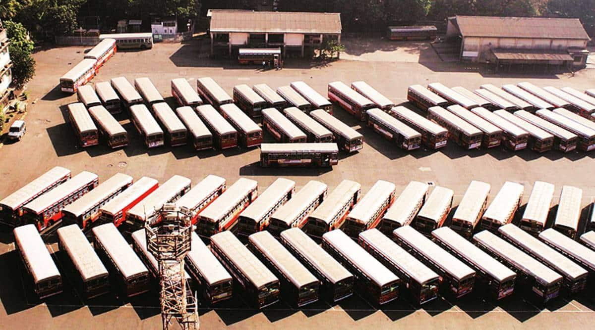 Assam bus strike, transporters strike assam, guwahati bus strike, Covid 19, assam covid news, assam news, indian express