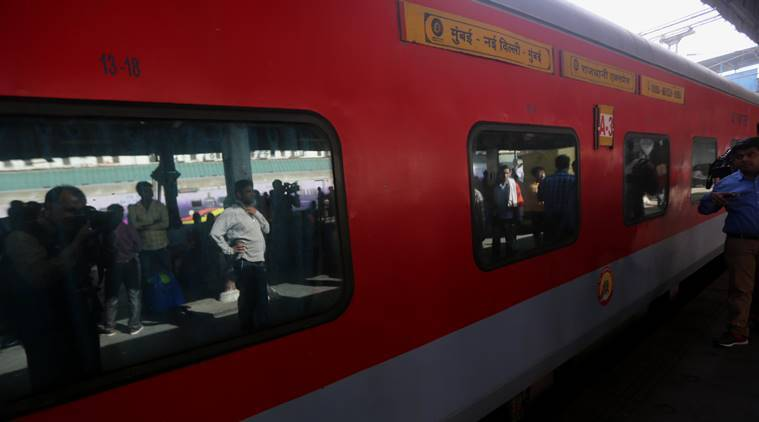 Railway ministry increases tariff for catering services on Rajdhani, Shatabdi and Duronto trains