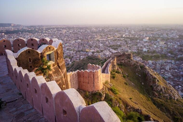 manikarnika, manikarnika shooting location, manikarnika movie locations, manikarnika shooting rajasthan, amer fort, nahargarh fort, jaigarh fort, manikarnika kangana ranaut, kangana ranat, ankita lokhande, jisshu sengupta, manikarnika movie, manikarnika movie locale, indian express, indian express news