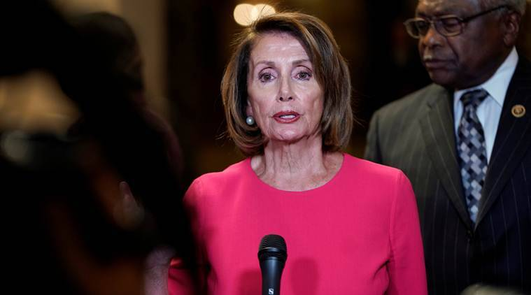 Nancy Pelosi accuses Trump of endangering US troops, lawmakers