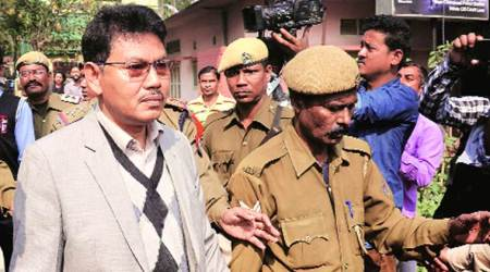Bodo dispute, NDFB Ranjan Daimary, Ranjan Daimary released, Bodoland dispute Centre, Assam news, indian express