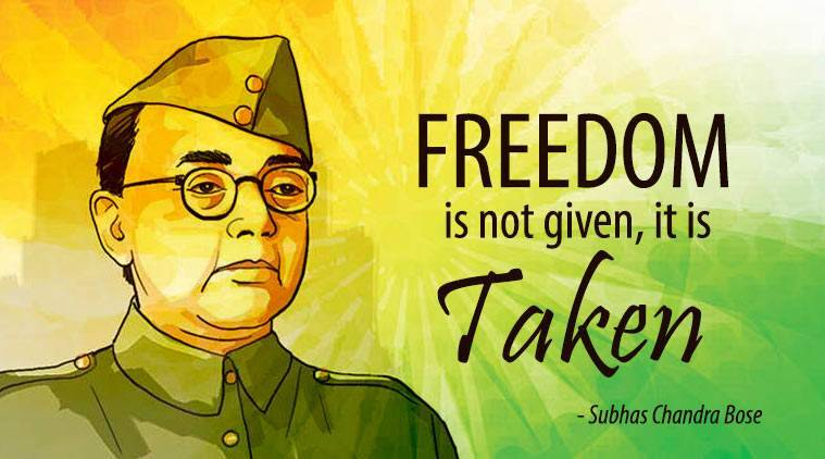 Netaji Subhash Chandra Bose Jayanti Quotes, Speech, famous Thoughts, Essay  in English: Inspirational quotes, famous thoughts of the leader
