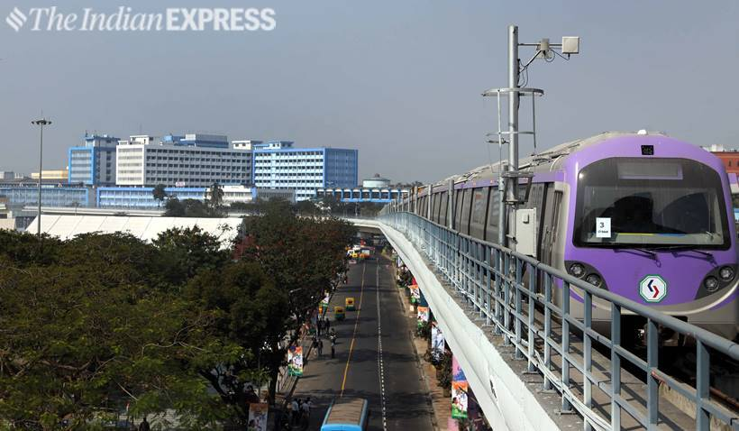 A sneak peek into Kolkata Metro's East-West line