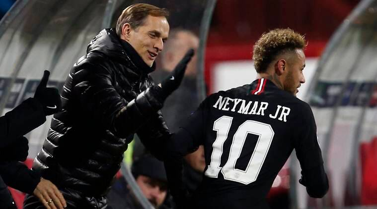 PSG coach Thomas Tuchel has to re-think plans with Neymar injured
