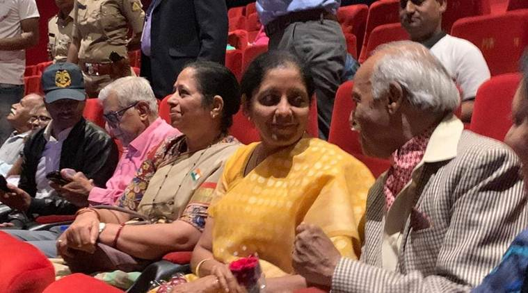 nirmala sitharaman, uri, the surgical strike, movie on uri attack, movie on surgical strike, movie show, bengaluru news, indian express