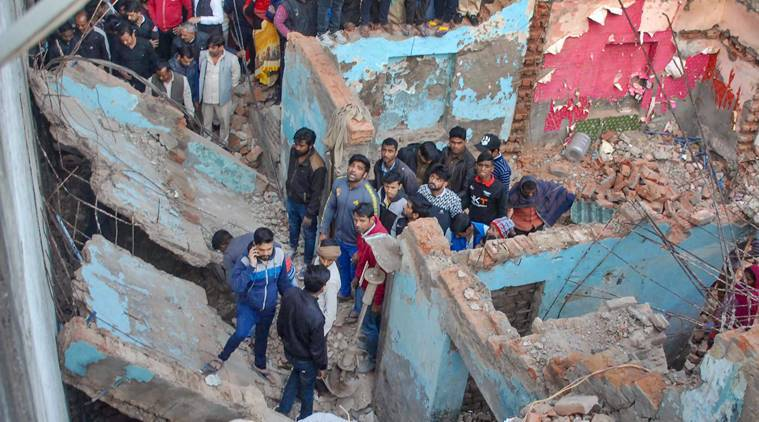 Noida, Noida Nithari village, Nithari village noida, nithari building collapse, nithari building village collapse, indian express, latest news