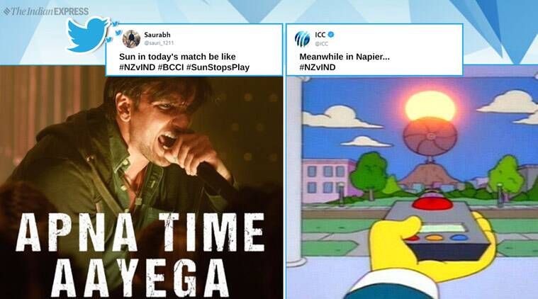 India vs new zealand, india vs new zealand 1st odi, india nz 1st odi, nz vs ind, india new zealand sun, sun cricket, cricket news, sports news, cricket memes, funny news, indian express