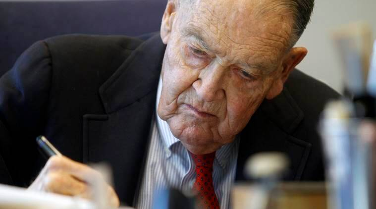 John Bogle, founder of the investments giant Vanguard